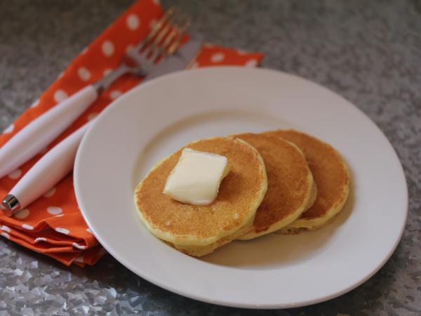 Gluten Free Orange Pancakes_