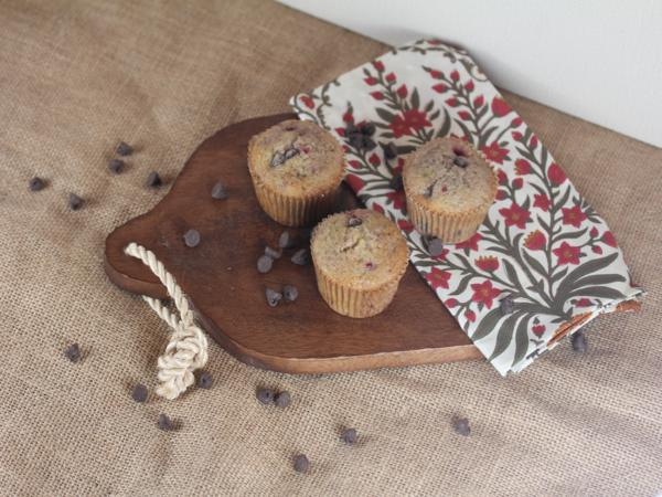 Gluten Free Raspberry Chocolate Chip Muffins