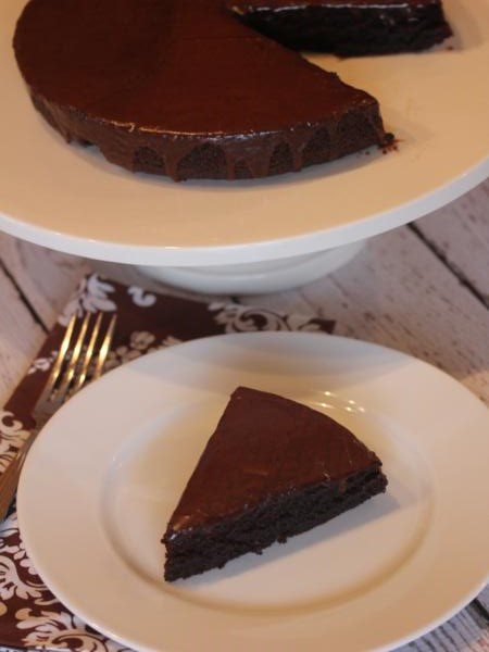 Martha Stewart's (Lighter) Chocolate Cake {The Gluten Free Way}