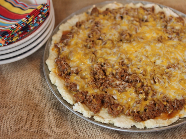Sloppy Joe Pizza_