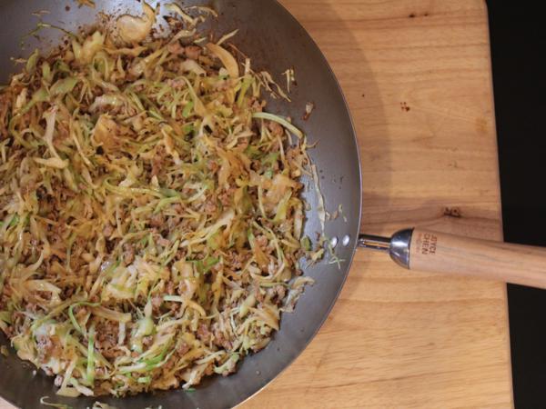 Stir Fried Pork and Cabbage--