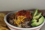 Homemade Taco Bowls