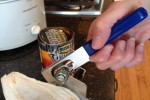 cleaning a can opener __