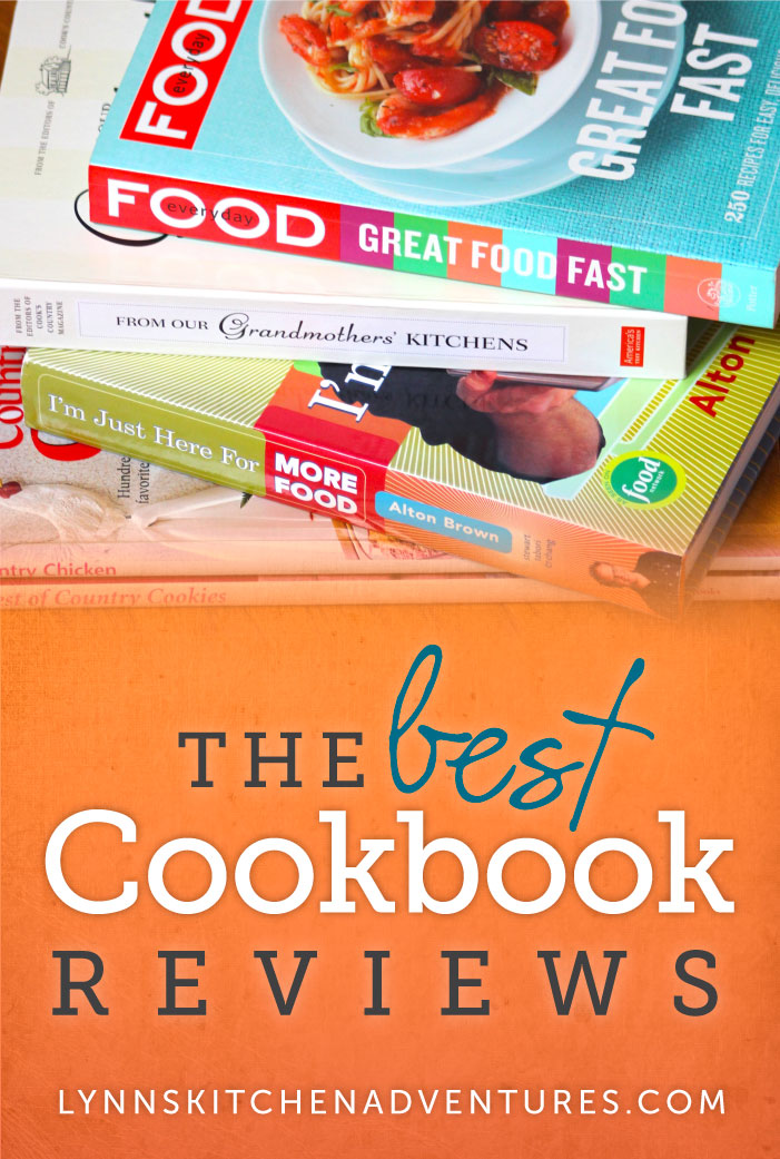 The Best Cookbook Reviews, from LynnsKitchenAdventures.com