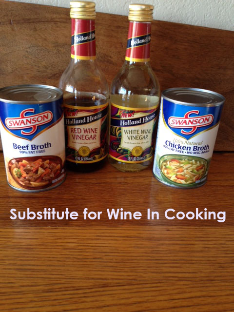 Substitute for Wine In Cooking