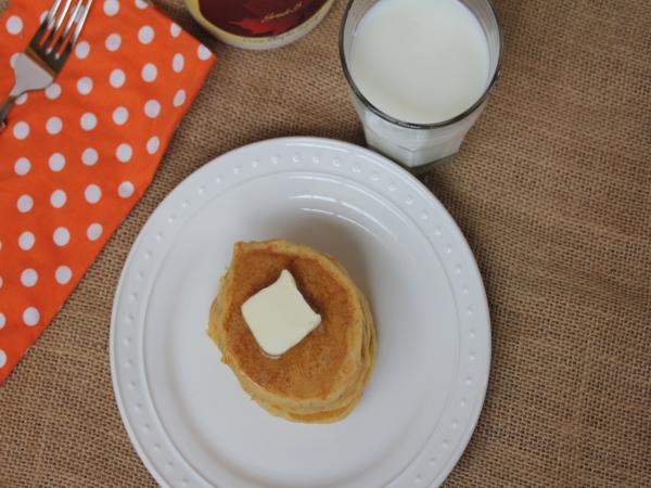 Gluten Free Carrot Cake Pancakes-