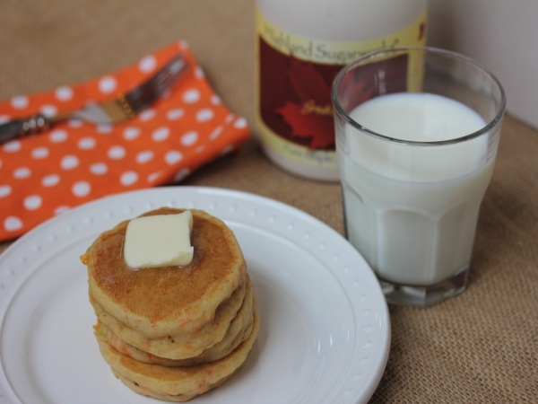Gluten Free Carrote Cake Pancakes__