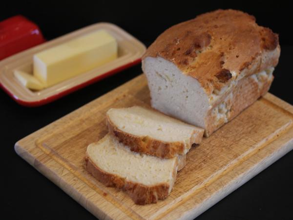Light and Fluffy Gluten Free Bread from LynnsKitchenAdventures.com