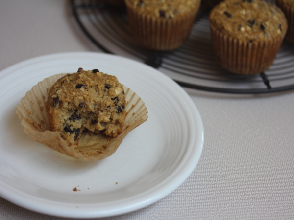 Oatmeal Honey Breakfast Muffins-