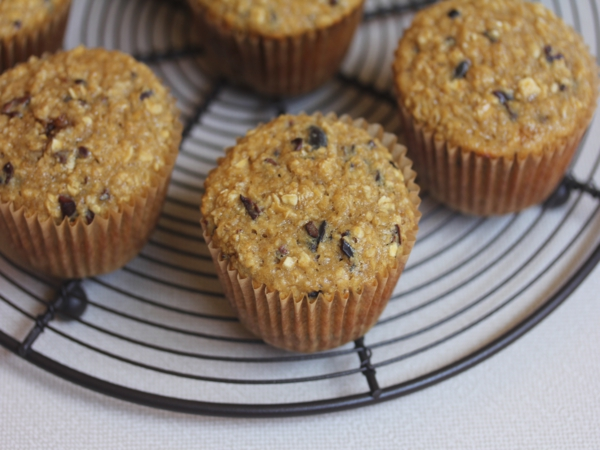 Oatmeal Honey Breakfast Muffins