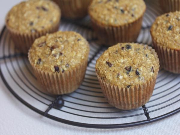 Oatmeal Honey Breakfast Muffins_