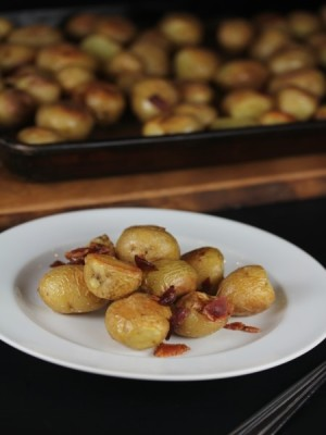 Roasted Potatoes with Bacon-