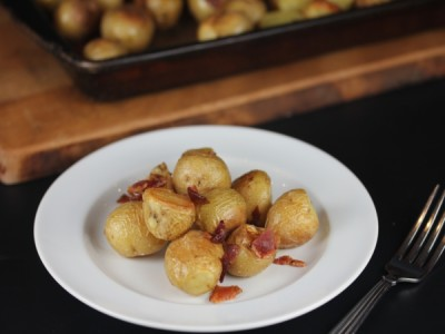 Roasted Potatoes with Bacon_