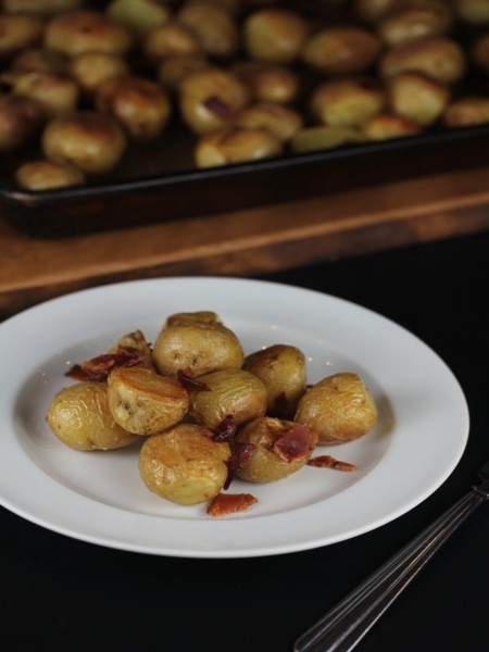 Roasted Potatoes with Bacon__