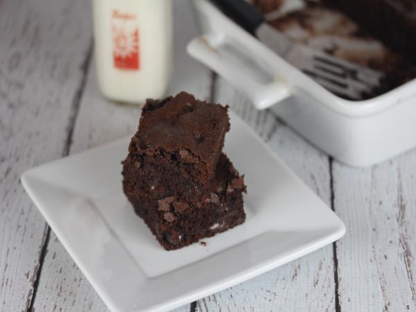 Gluten Free Double Chocolate Brownie_