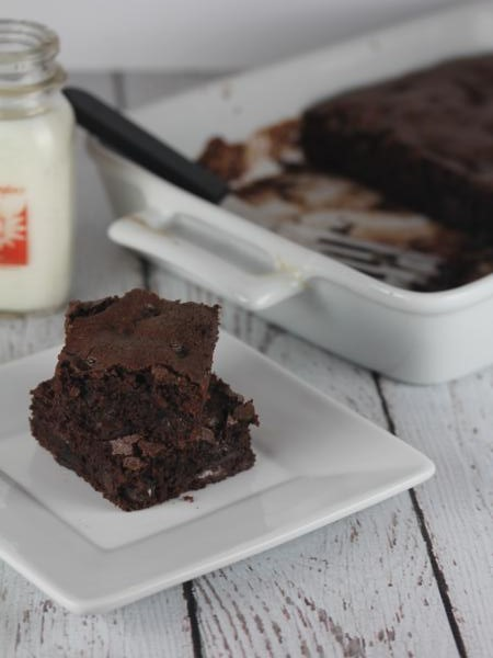 Gluten Free Double Chocolate Brownie__