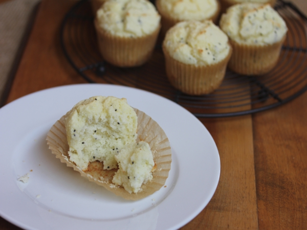 Gluten Free Lemon Chia Seed Muffins