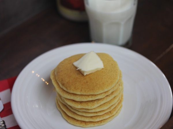 Mom's Easy Sourdough Pancakes
