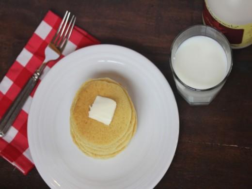 Mom's Sourdough Pancakes