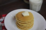 Easy Sour Dough Pancakes