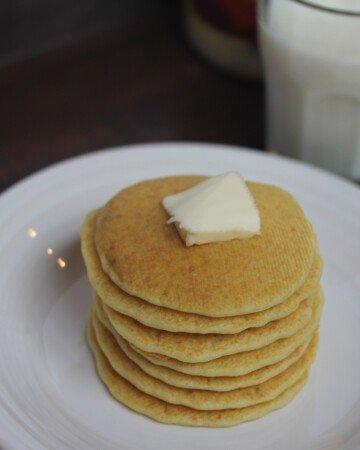 Easy Sour Dough Pancakes