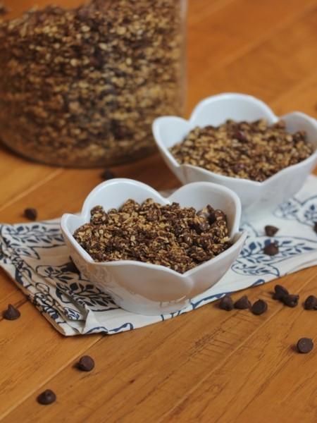 Peanut Butter Chocolate Granola