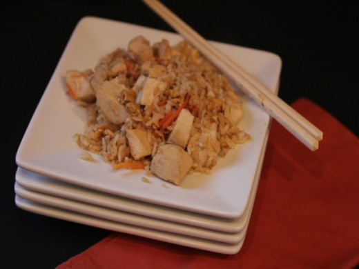 Chicken Fried Rice-