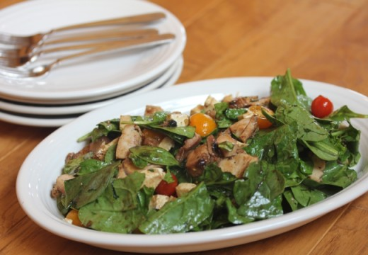 Chicken-Spinach-Salad