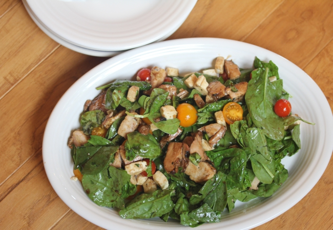 Chicken Spinach Salad_