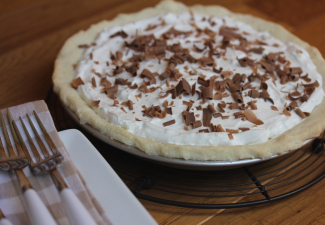 Chocolate Pie Recipe {Cooking Through My Collection}