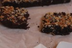 Flourless Coconut Brownies