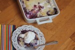 Easy Blueberry Peach Cobbler