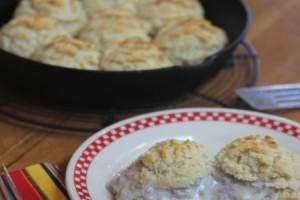 gluten free biscuits and gravy