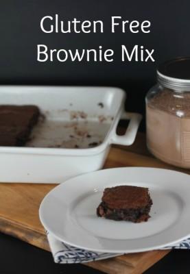 Gluten Free Brownie Mix - lynnskitchenadventures.com