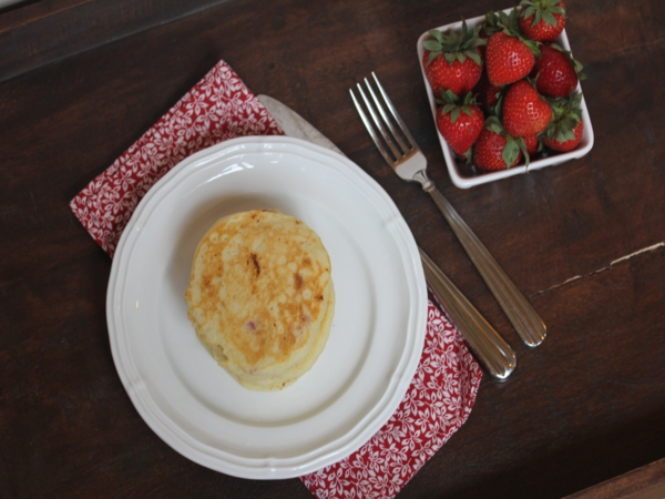 Gluten Free Strawberry Pancakes