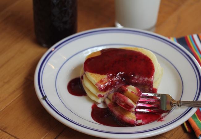 Blueberry Pancake Syrup