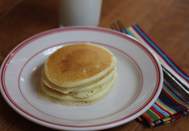 Fluffy Gluten Free Pancakes without Xanthan Gum_