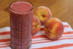 Peach, Banana, Berry Smoothie
