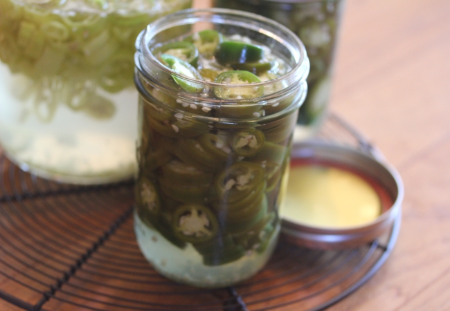 Refrigerator Pickled Peppers_