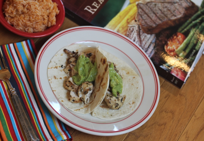 Beer Marinated Grilled Chicken Tacos-