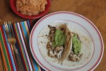 Beer Marinated Grilled Chicken Tacos {Cooking Through My Collection}