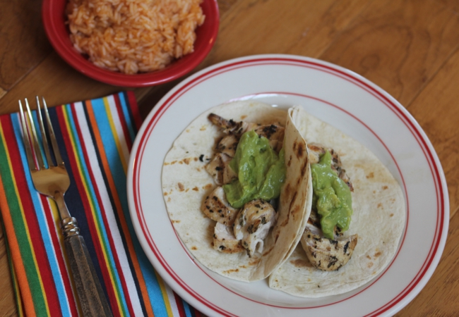 Beer Marinated Grilled Chicken Tacos