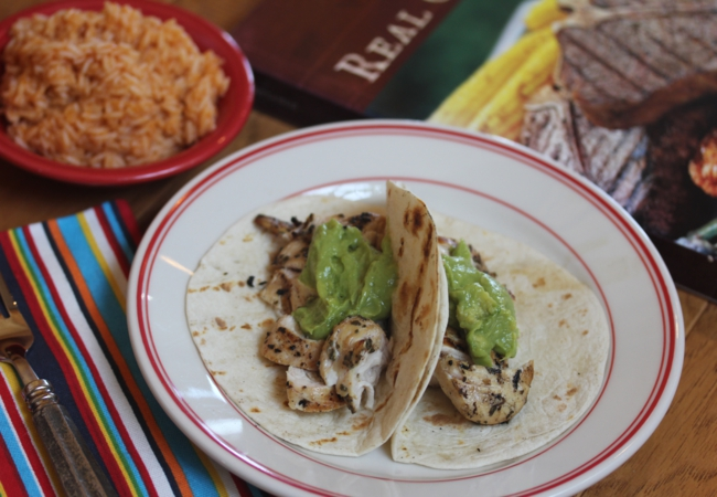Beer Marinated Grilled Chicken Tacos_