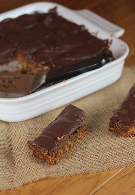 Chocolate-Peanut -Butter-Granola-Bars