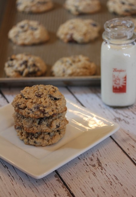 Flourless Oatmeal Cookies-
