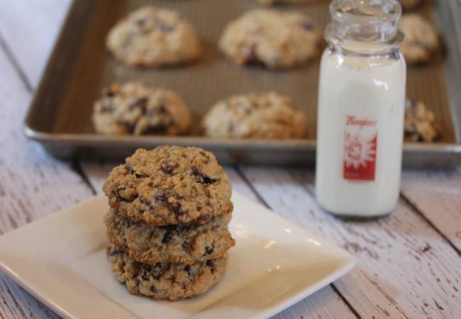 Flourless Oatmeal Cookies_