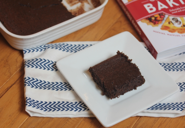 Flourless Peppermint Brownies-