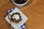 Gluten Free Blueberry Maple Crisp