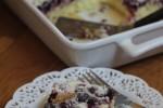 Gluten Free Blueberry Muffin Snack Cake