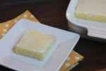 Gluten Free Lemon Brownies-